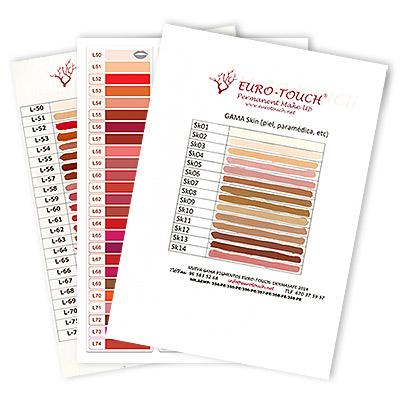 Gama de Colores ET-DermaSafe Euro-Touch